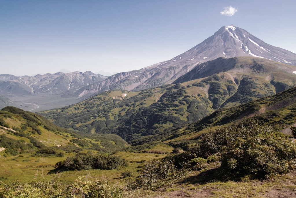 горная панорама Дальнего Востока